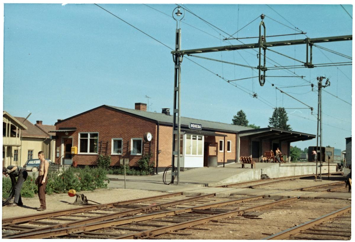 Envånings stationshus
