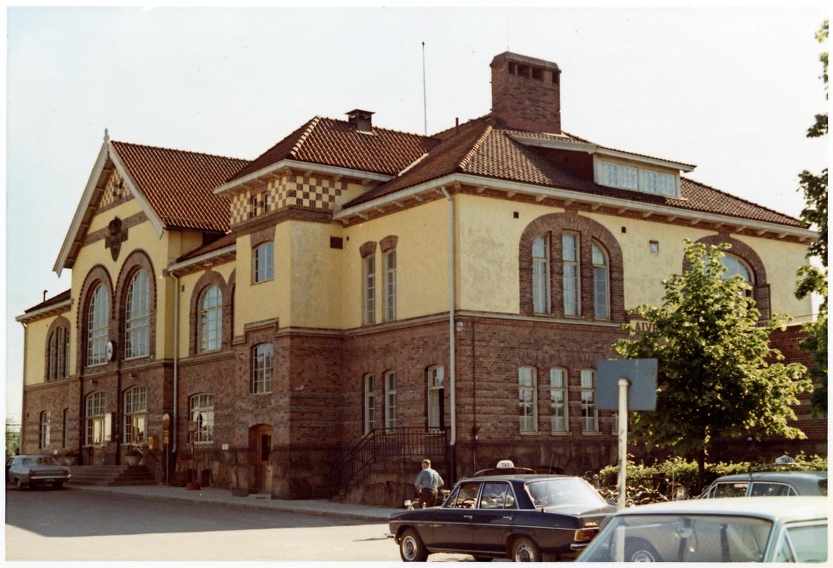 Alvesta stationshus.