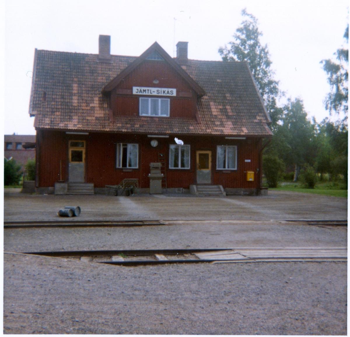 Jämtlands -Sikås station