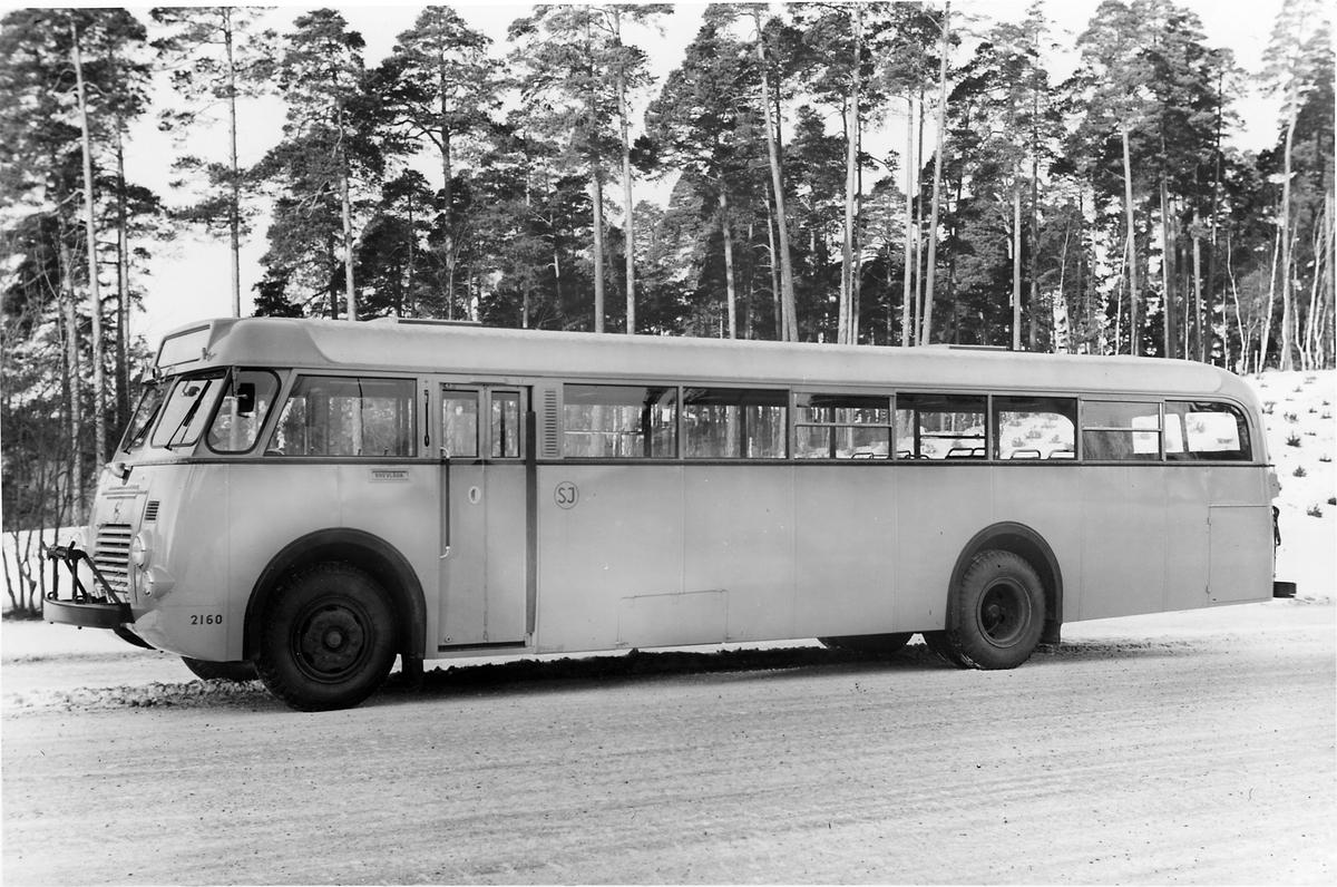 Statens Järnvägar, SJ buss 2160 SCANIA-VABIS.