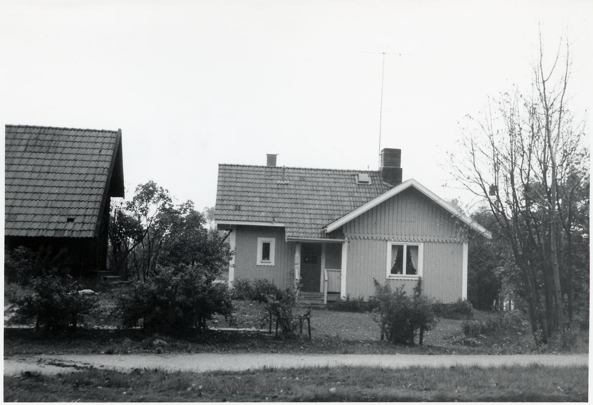 Ormnäs banvaktstuga på linjen mellan Stugsund och Söderhamn.