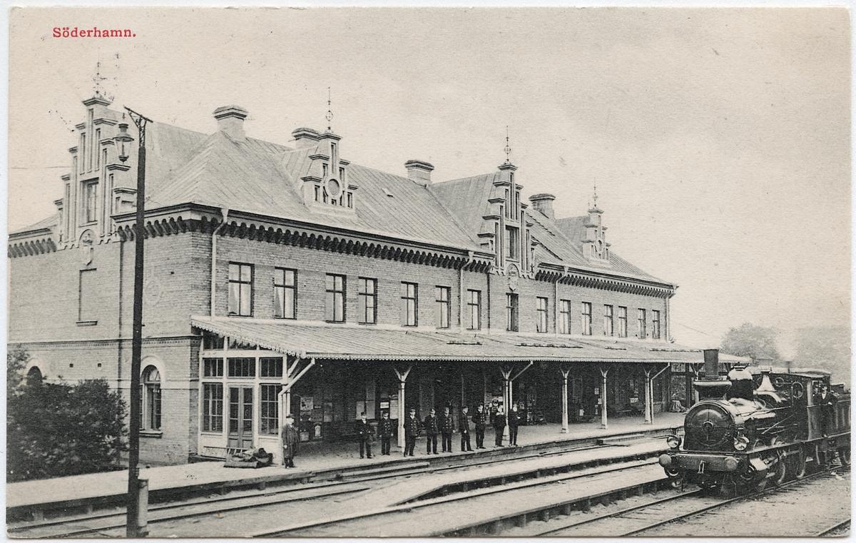 Söderhamn station.