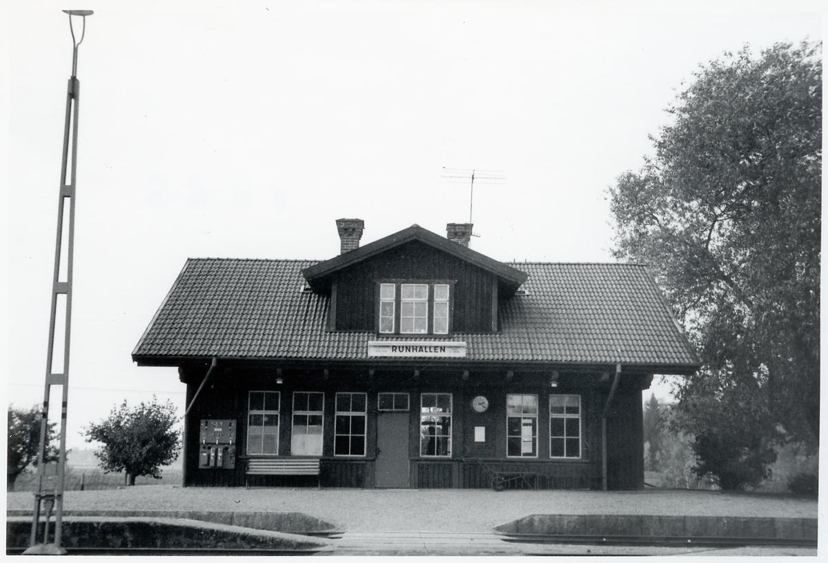 Runhällen station.