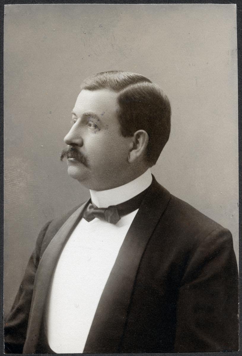 Överdirektör Eugen Oskar Julius Björklund.