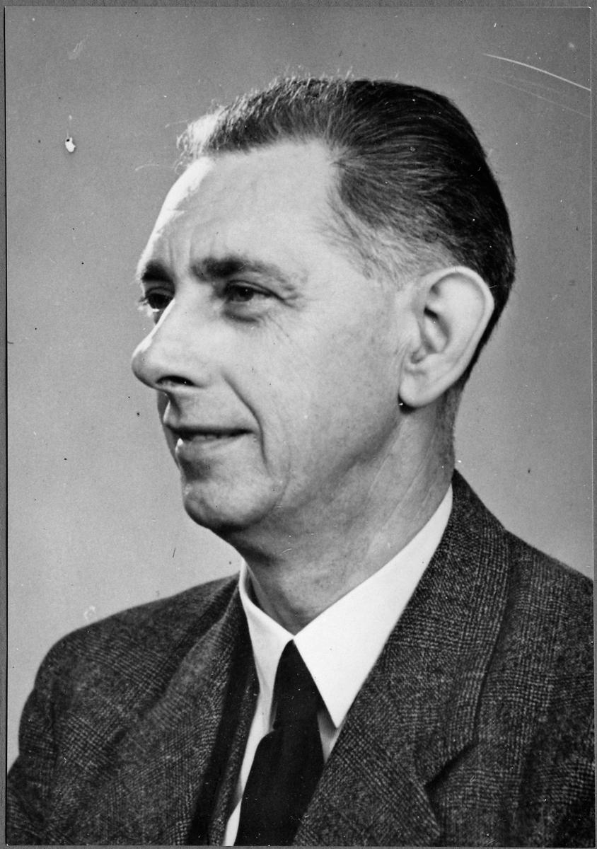 Stationsföreståndare Erik Gustaf Eng.