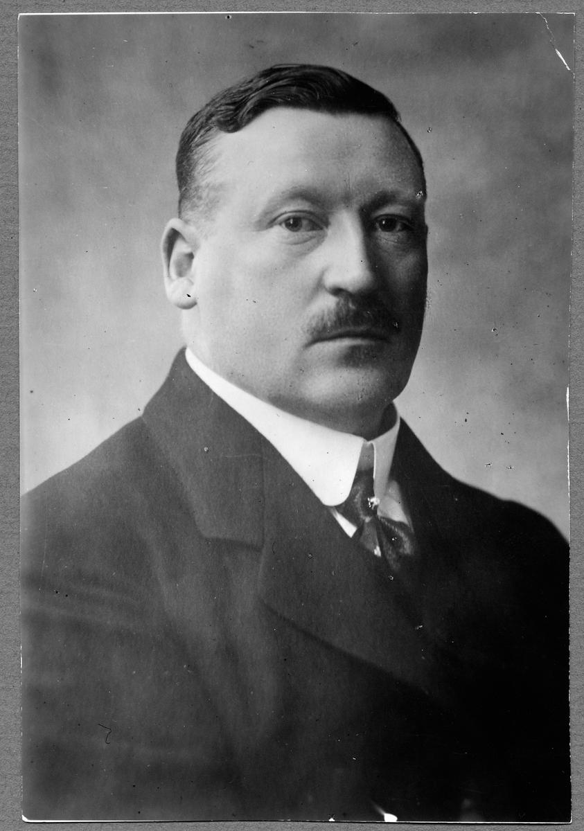 Axel Granholm, generaldirektör Statens Järnvägar 1914-1937.