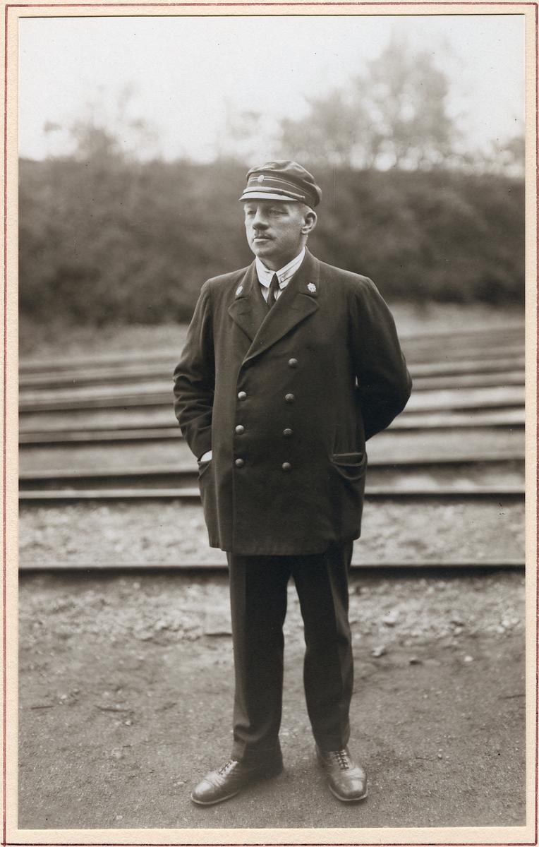 Stallförman Karl Alfred Palmgren.