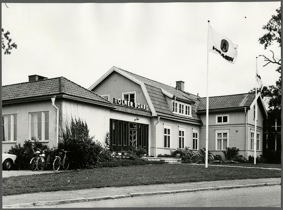 Kontorsbyggnad för Holmen Board.