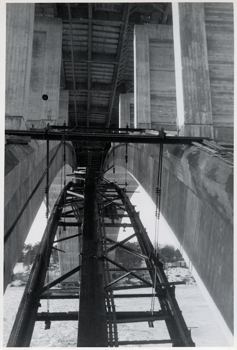 Viadukts konstruktion.