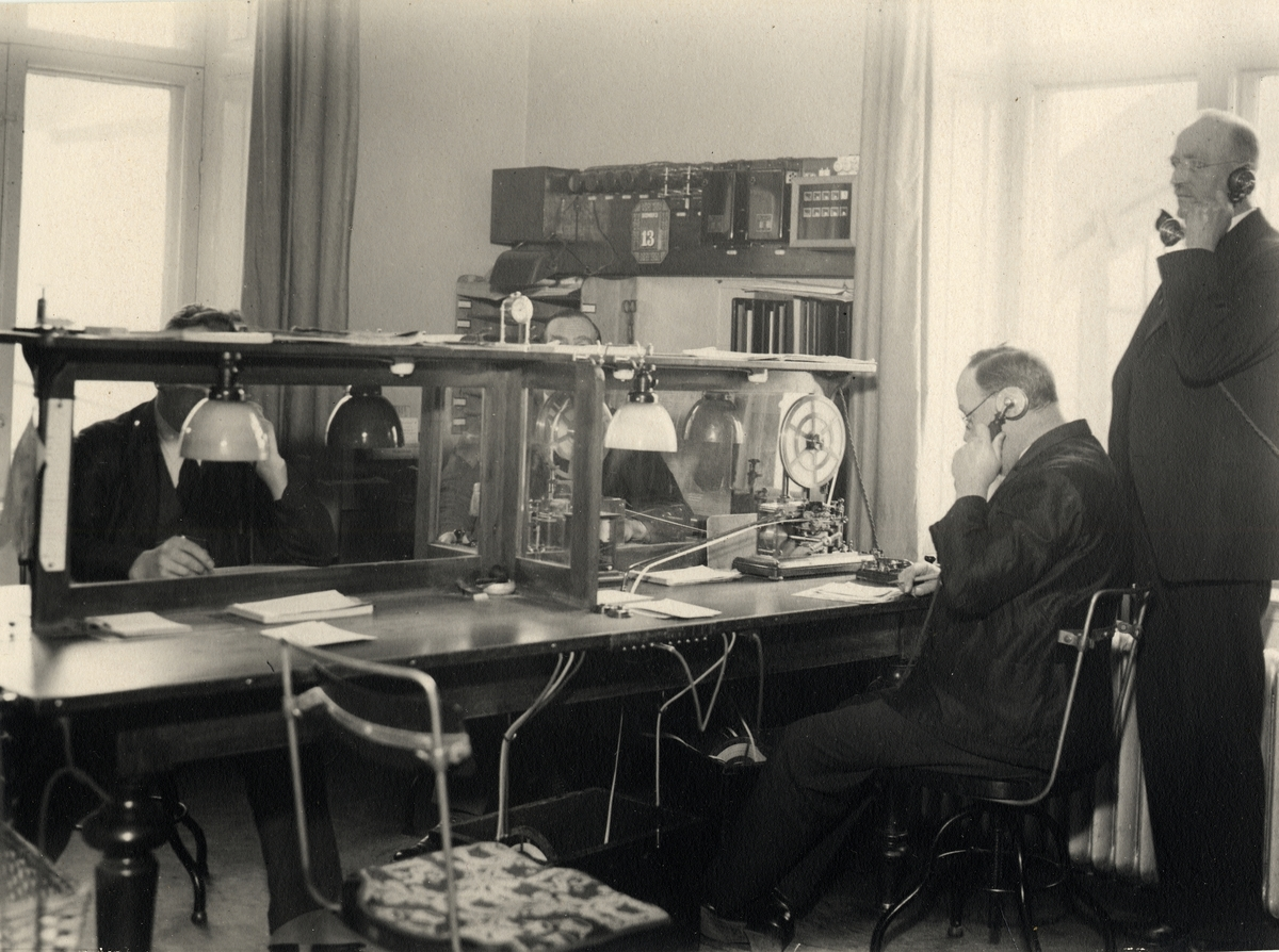 Telegramexpedition Stockholm Central 1933