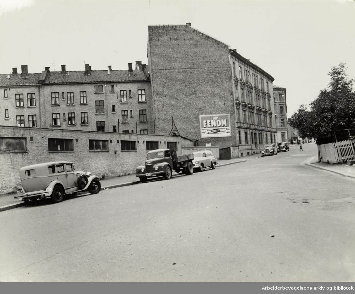 Fredensborgveien. 1950 - 1955
