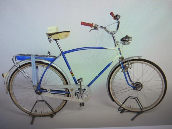 størrelse sykkel herre