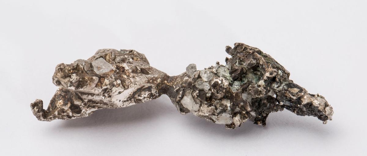 Sølvkrystall Mildigkeit Gottes gruve, 174 m Vekt: 16,75 g
