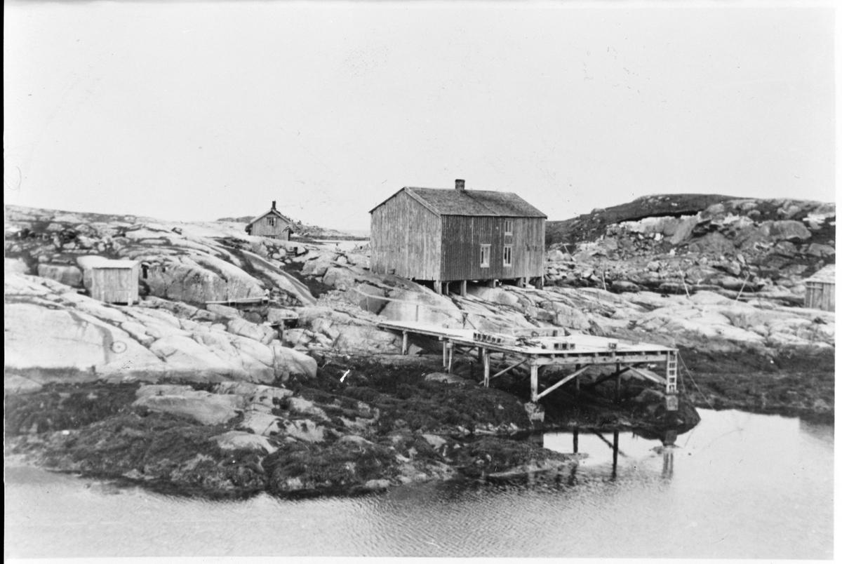 Rorbu Fortuna på Rorsøya, Halten, Frøya.
