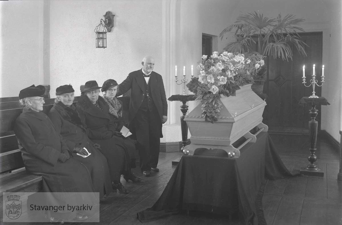 Bedemann Nielsens begravelse
