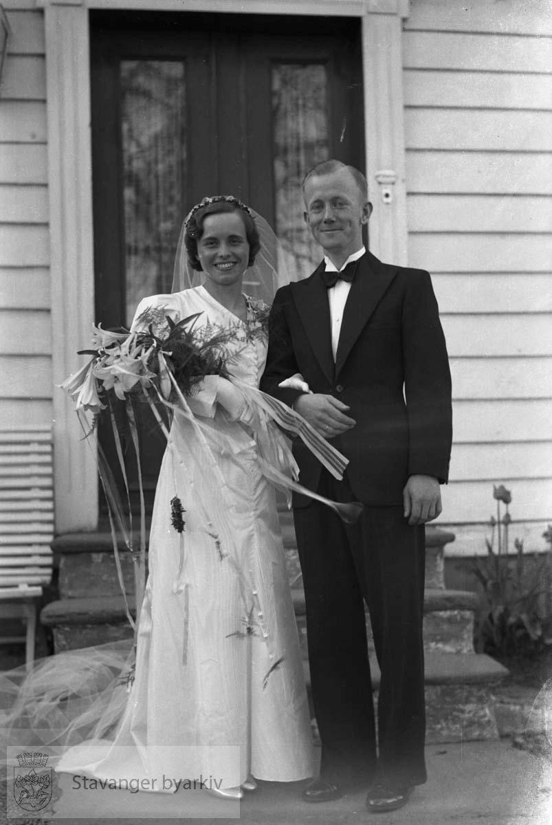 Henrik Paulsen med frue.