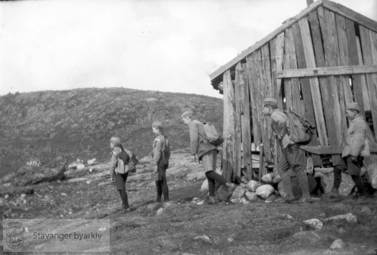 Sommeren 1929/30: Prekestolen
