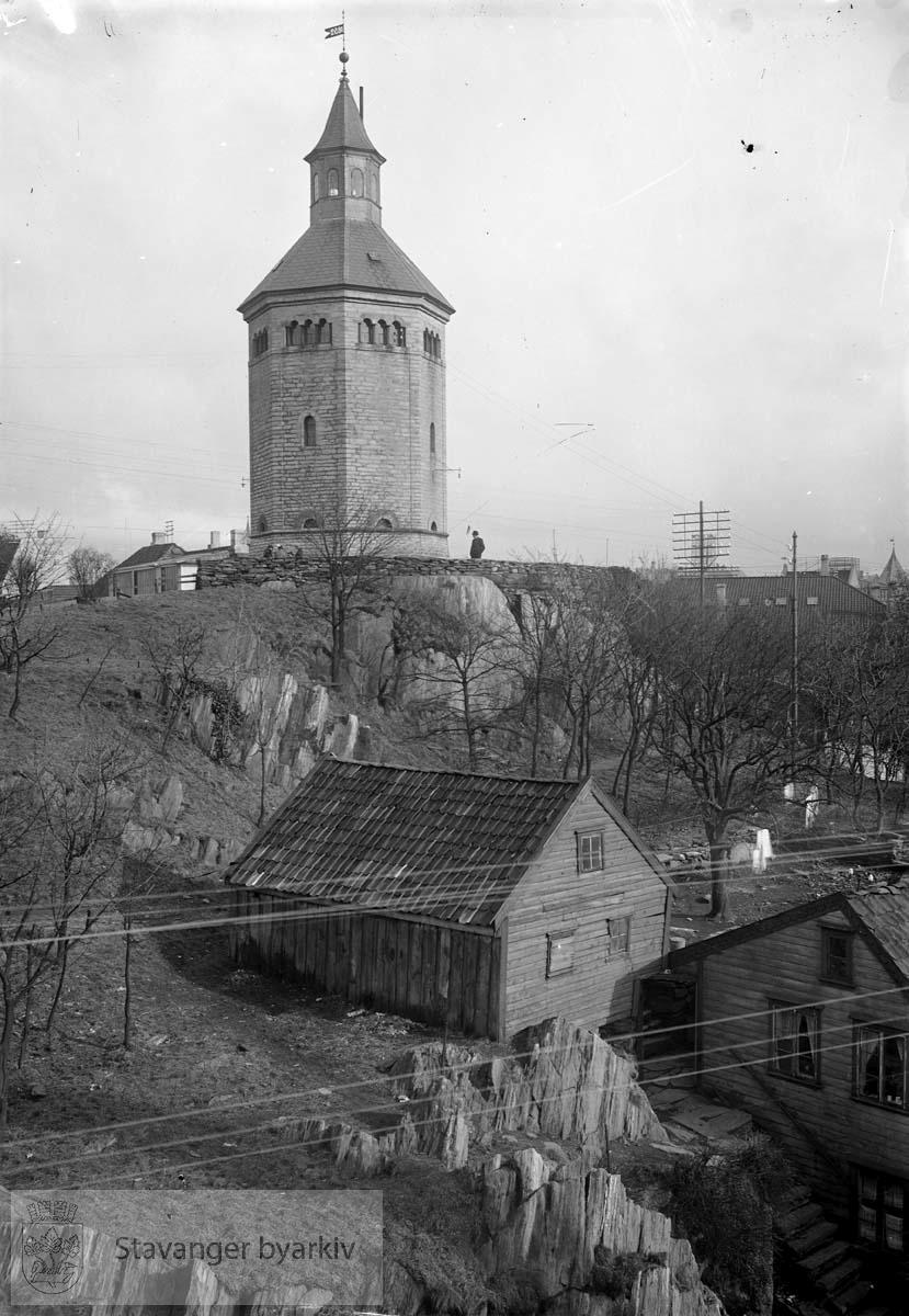 Valbergtårnet fra nord-vest