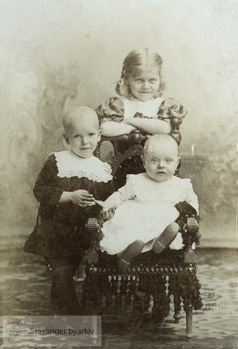 Signe, Håkon og Sverre