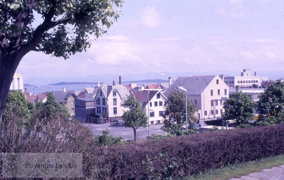 Fra Johannesparken mot Haugesundsgata og Hesbygata