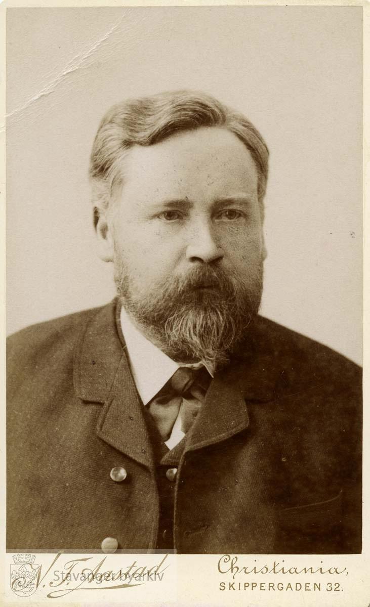 Bankbestyrer Bernt Pedersen
