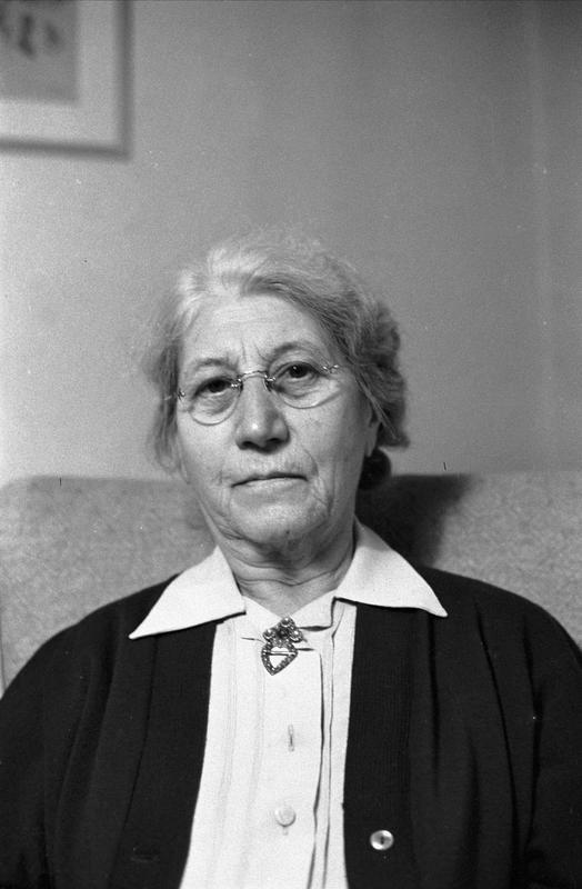 Nanna Broch, fotografert i 1959