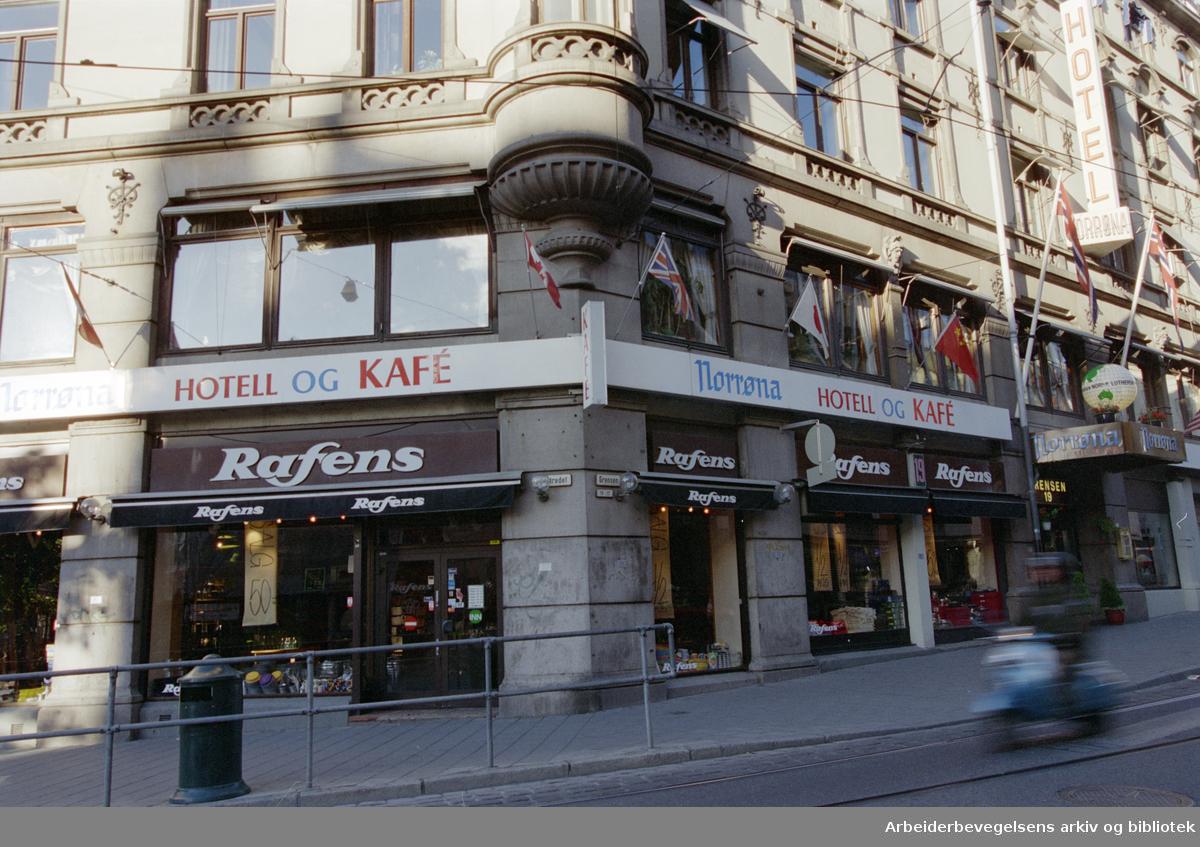 Oslo: Grensen 19. er fra 1860-tallet. 18. juli 1996