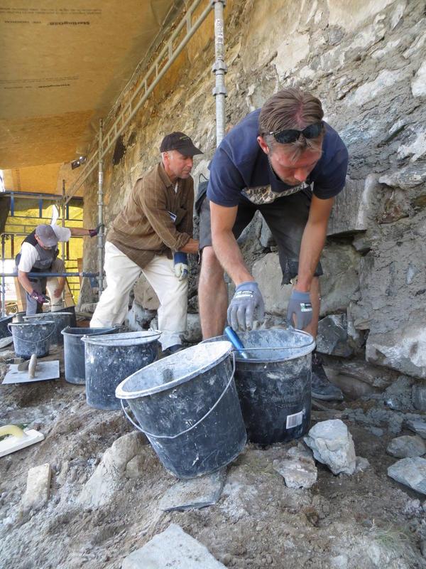 Handverksdager på Røros. Leire - et byggemateriale med lange tradisjoner. (Foto/Photo)