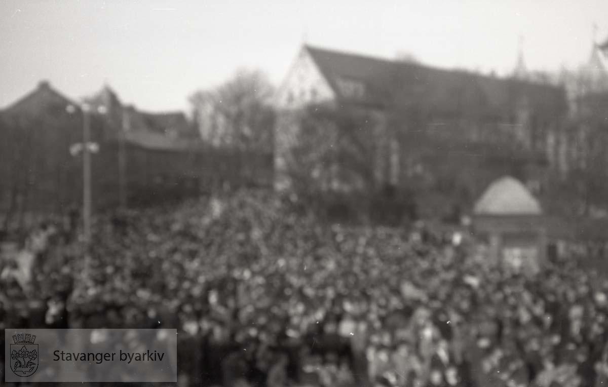 Tatt kort tid etter frigjøringen fra okkupasjonen , 2. verdenskrig. Fredsdagene 1945..