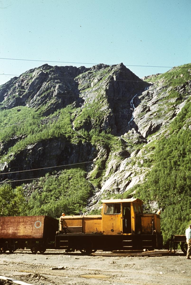 Sulitjelmabanens diesellokomotiv LOKE.