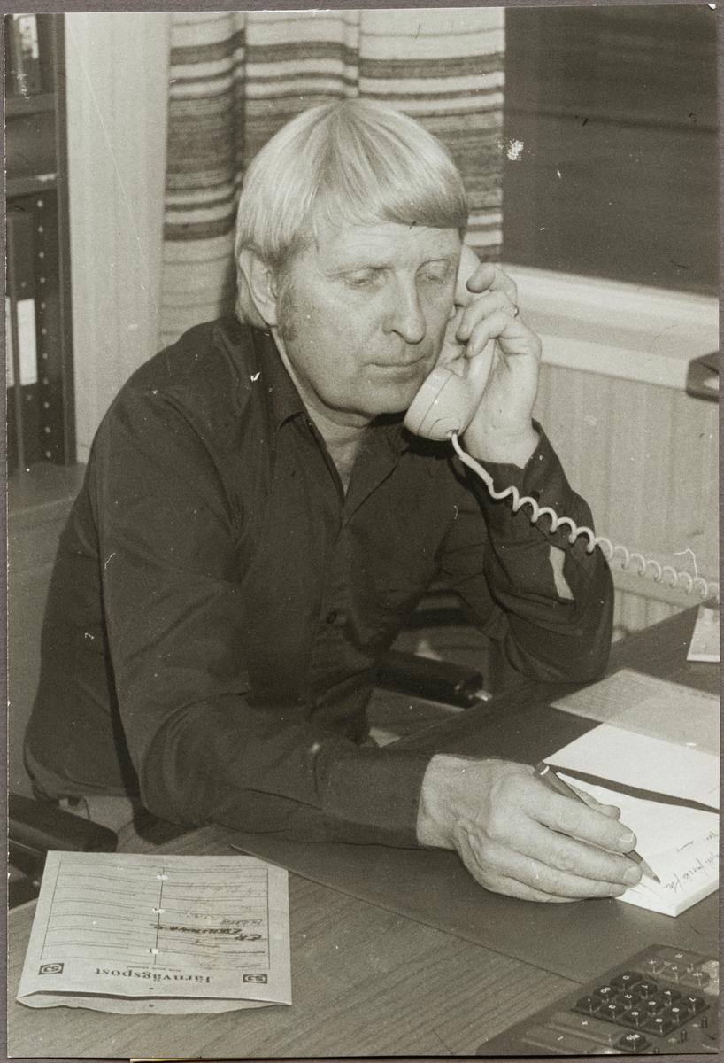 Lars Råstock, områdeschef för Kopparbergs trafikområde.