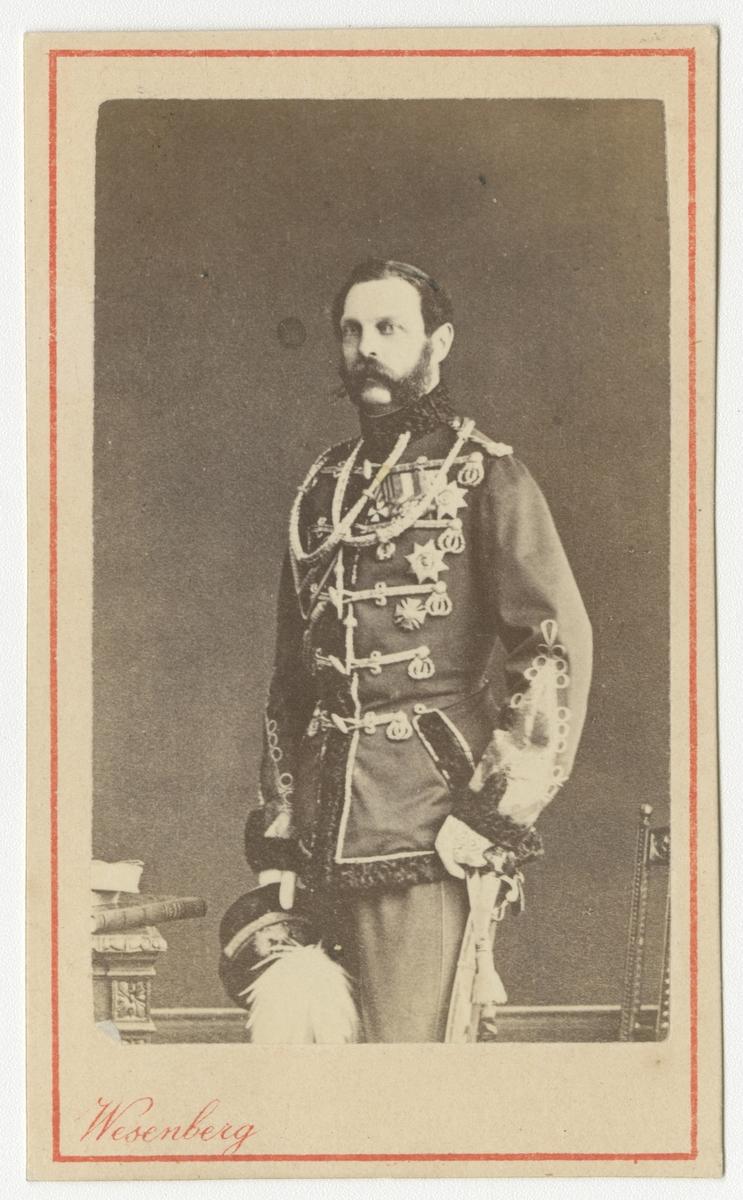 Porträtt av kejsare Alexander II av Ryssland.