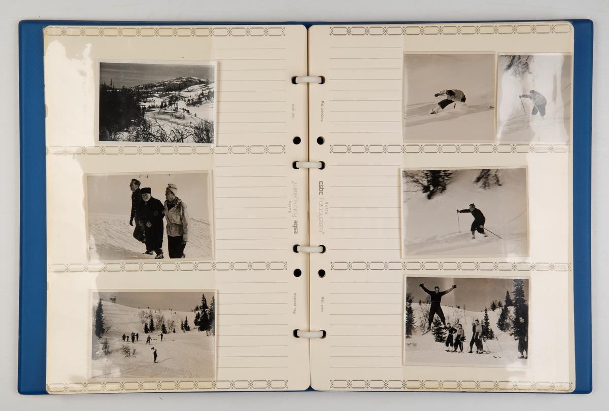 Minnealbum fra 1938-kullet på skipslinjen ved Norges tekniske høgskole. Albumet inneholder også bilder fra studentenes jubileumstreff på Gol i 1989