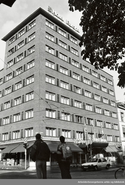Hotell Europa. Oktober 1992