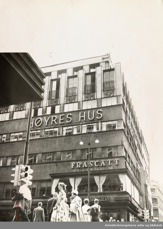 Høyres Hus. Juli 1959