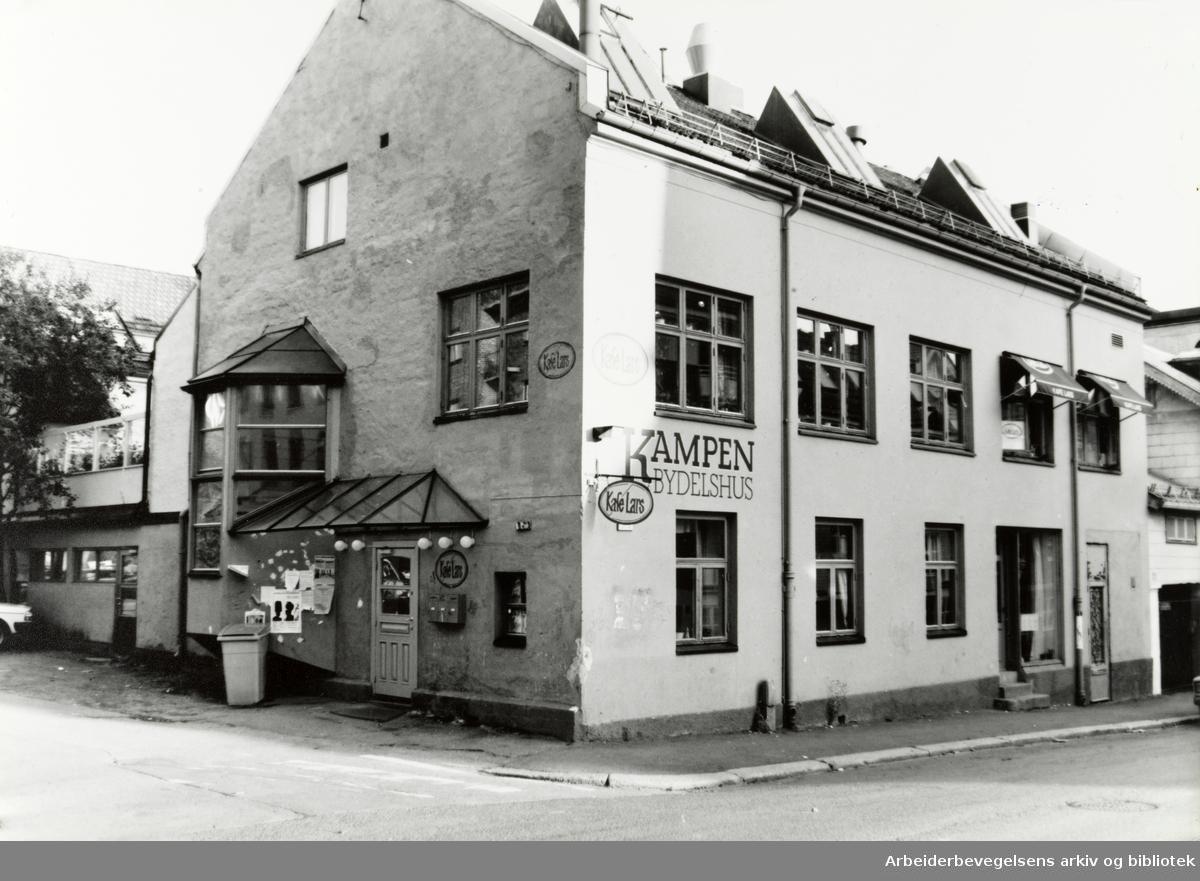 Kampen. Kafé Lars. September 1991