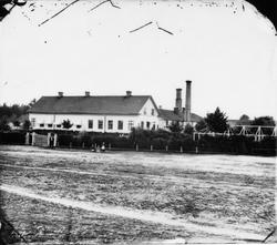 Bryggeriet Gustafsbro utanför Gävle på 1860-talet. Gefle Bry