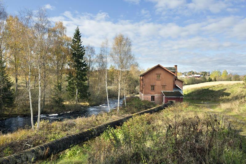 Auli mølle er et unikt teknisk kulturminne i jordbruksbygda Nes. Foto Øivind Möller Bakken, MiA. (Foto/Photo)