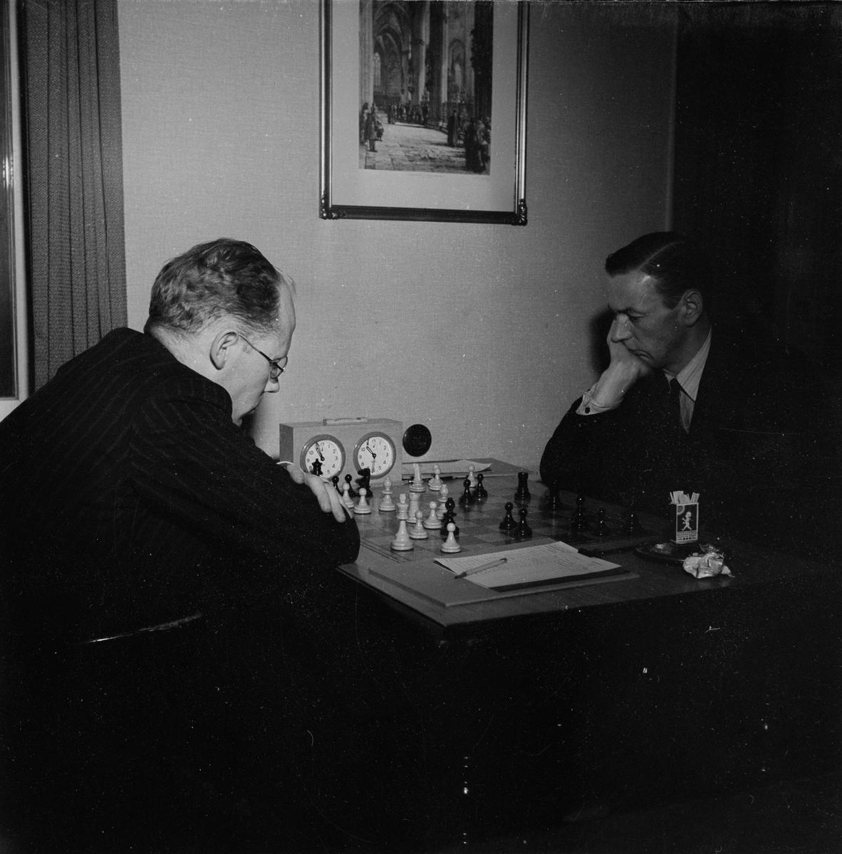 Schack, Eero Böök, Uppsala, december 1947