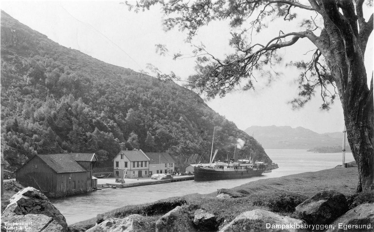 Dampskipskaien i Egersund