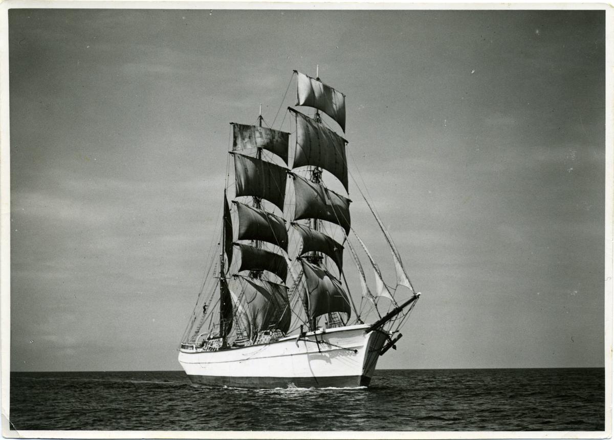 Tremastade träbarken Eläköön ägdes av Gustaf Erikson 1933 - 1943.