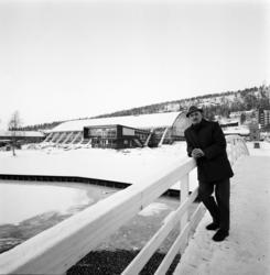 Nya Sporthallen i Sundsvall, exteriör samt interiörbilder, b