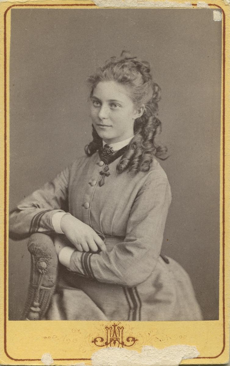 Clara Bäcklin, 1874.