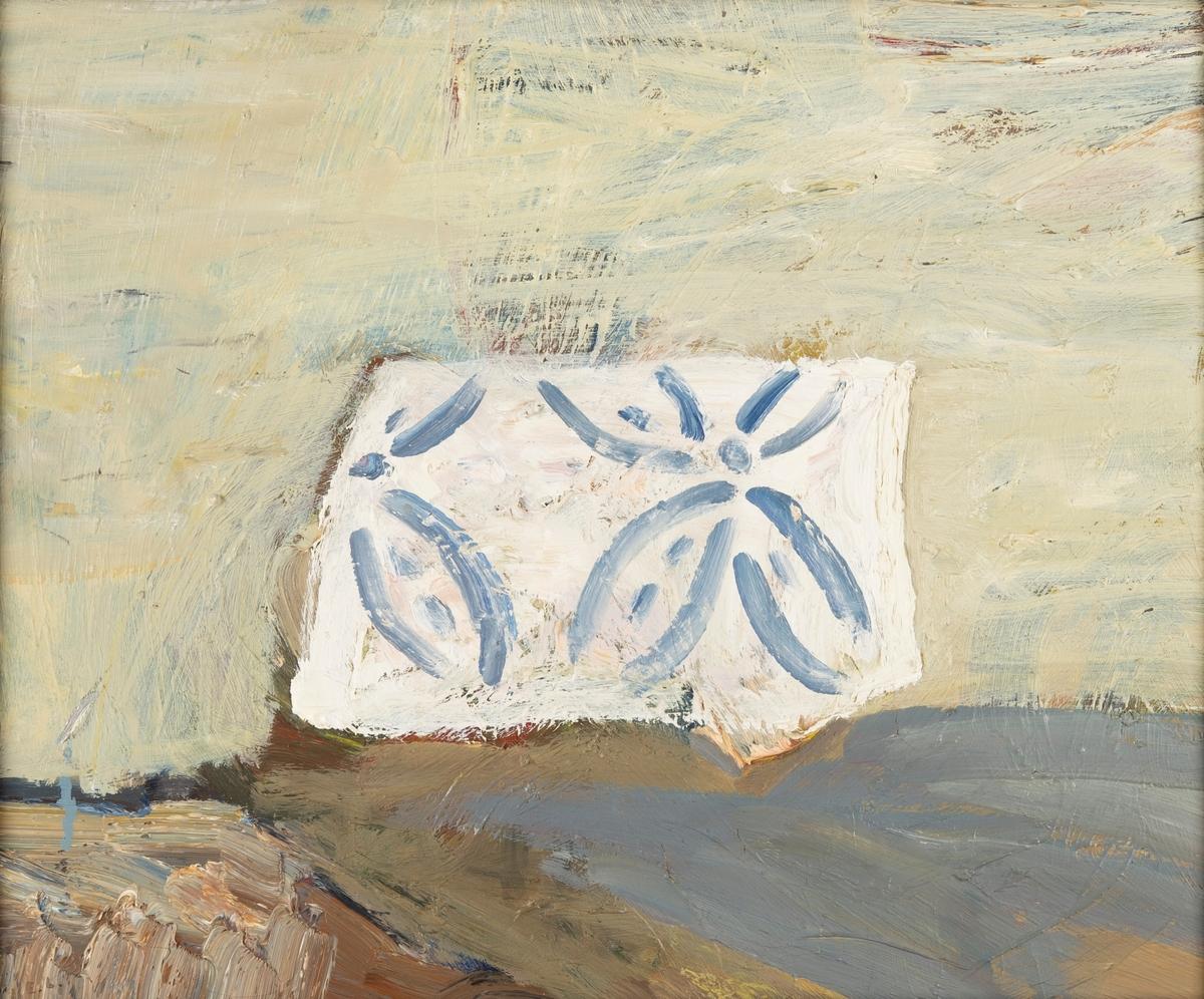 Kakelplattan [Oljemålning]