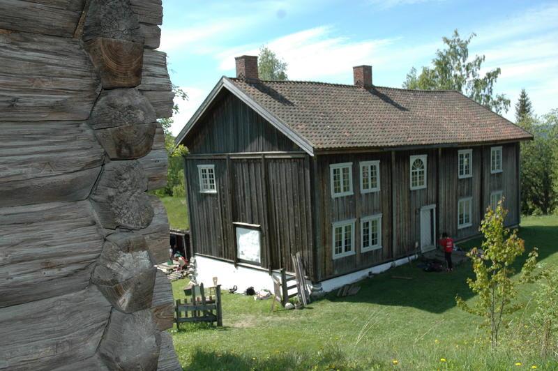 Grinakerbygningen sett fra Halvdanshaugen. Foto: Tor Lindseth (Foto/Photo)
