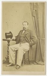 Porträtt av Kanaris Alexis von Warnstedt, underlöjtnant vid