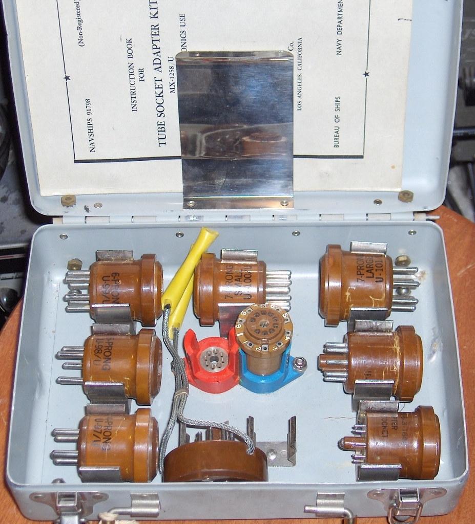 Tube socet adapter kit MX-1258/U