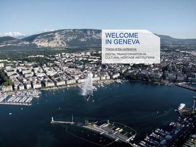 Geneva CODOC 2020 Digital transformation in cultural heritage institutions
