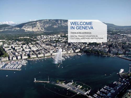 Geneva CODOC 2020 Digital transformation in cultural heritage institutions. Foto/Photo