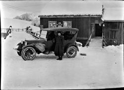 Haugfoss, butikker Postbilen